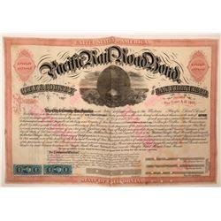 Western Pacific Railroad Bond  (115896)