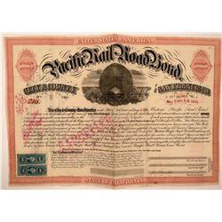 Western Pacific Railroad Bond  (115895)