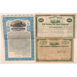 Old Colony Rail Road Co. bonds  (110838)