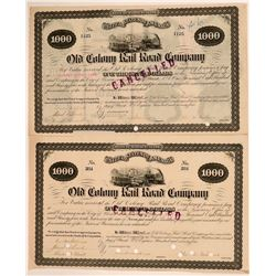 Old Colony Railroad Co. bonds  (110839)