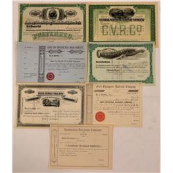 New England Unissued Railroad Stocks, Mass. & VT.   (111196)