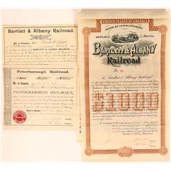 New Hampshire Railroad Stocks  (117852)
