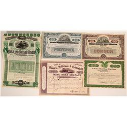 New York Railroad Stocks  (117860)