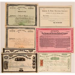 New York Railroad Stocks  (117887)
