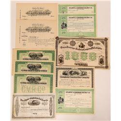 Eastern Railroad Stock Certificates  (117494)