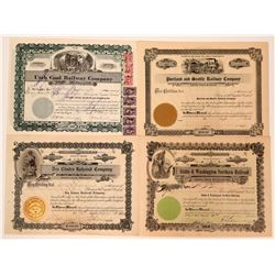 Northwest RR Stock Certificates  (117221)