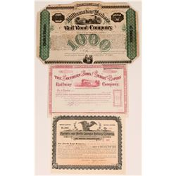 Georgia, Iowa and North Carolina Railroad Bonds (117535)
