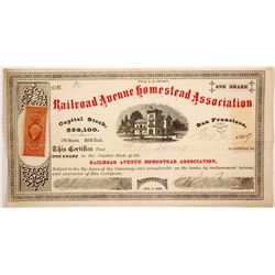 Railroad Avenue Homestead Assoc.  stock  (82719)