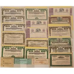 California Bank Stock Certs  (118844)
