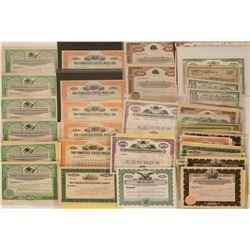 California Stock Certs Including Paramount Pictures  (118845)