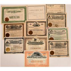 Alaska Mining Stock Collection  (117911)