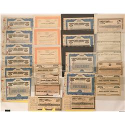 Mother Lode Mine Stock Certs  (118847)