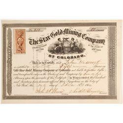Star Gold Mining Company Stock  (79741)
