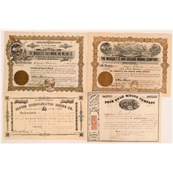 Colorado Mining Stock Collection  (117881)