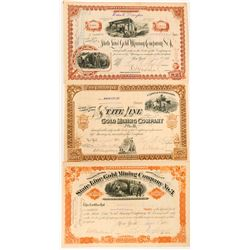 Esmeralda County Mining Company Stock Certs: State Line  (117185)