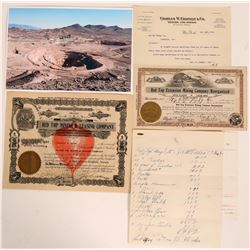 Red Top Mining Company Stock Certificates & Ephemera  (116135)