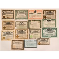 Nevada Mining Stock Group, Tonopah, Goldfield & Manhattan (15)  (111968)
