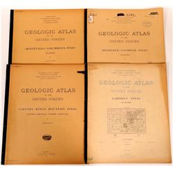 U.S. Geological Survey Folios for Alabama (Lot of 4)  (110507)