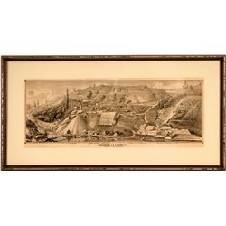 Providence Gold & Silver Mining Co. litho, Framed  (115506)