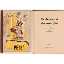 "101 Adventures of ""Panamint Pete"" Hardcover Book Published by the Randsburg Times  (111941)"