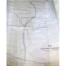 Black Hawk Placer Mine Map  (61258)