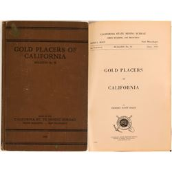 Gold Placers of California bulletin #92, Haley 1923  (120237)