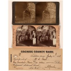 Stereoviews from Inside Colorado & Pennsylvania Mines  (117324)