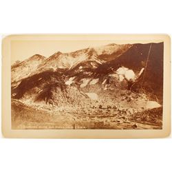 Silver Plume and Mines. CO Cabinet Card  (91065)