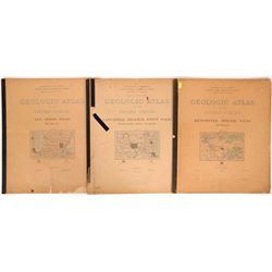 Great Lakes Copper-Iron Region USGS Geologic Folios (5)  (112322)