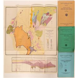 Key Goldfield Mining District Geology & Ore Deposit Reference (Plus 2 Extras)  (113337)