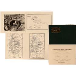 Black Hills Gold! The Bullion Mining & Milling  Co. Prospectus - Rare!  (119602)