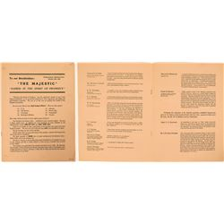 Majestic Mining Properties Promotional Letter to Stockholders  (119588)