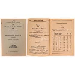 British Columbia Mines Report, 1878  (111938)