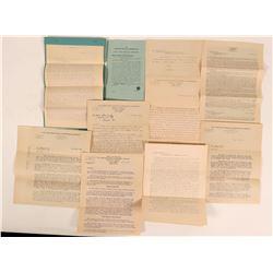 Certigue Mining & Dredging Co. Mine Report & Shareholder Letters, 1910  (111931)