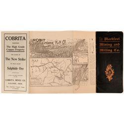 Copper Mining Prospectuses (3)  (119584)