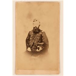 Union Army Civil War Soldier CDV, 1860's  (111946)