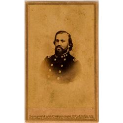 Confederate General Civil War CDV Photograph  (117309)