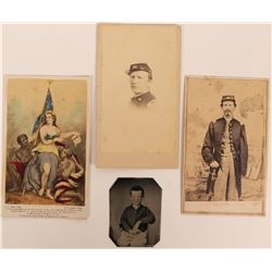 Three Civil War CDV's  (117282)