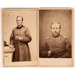 Two CDV's of Union Soldiers  (118310)
