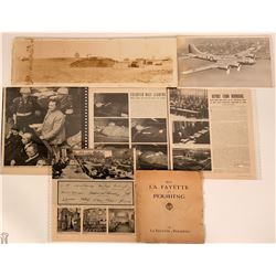 WWI WWII Article Photographs & Book  (117485)