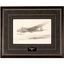Original Drawing of a German Aircraft by Robert Bailey  (108554)
