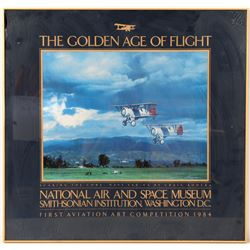 Golden Age of Flight lithographic print  (106448)