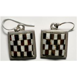 Contemporary Earrings by Begay  (119486)