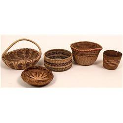 Four Vintage Native American Baskets  (117056)