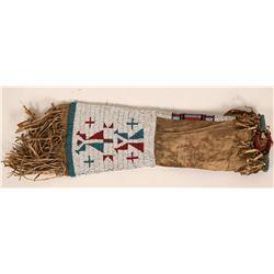 Plains Beaded Peace Pipe Bag  (119993)