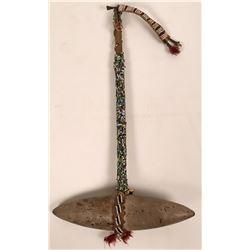 Native American Beaded Hammer  (117357)