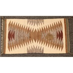 Navajo Double Saddle Blanket  (116205)