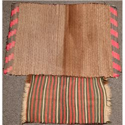 Two Antique Rugs/Blankets  (119180)
