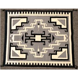 Toadlena Two Grey Hills Weaving  (119209)