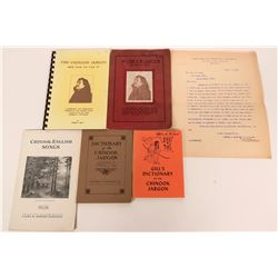 Chinook Dictionaries & Historical Booklets  (113230)